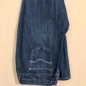 St. John's bay bootcut jeans size 24w